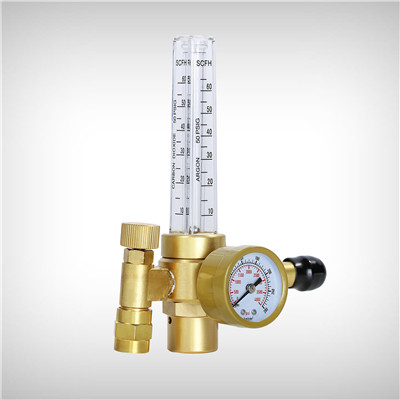 CO2/Argon Flow Gauge Regulator CGA580 Inlet connection