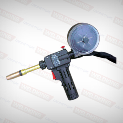 SpoolKing24D spool gun with 25ft lead,Euro end and TWECO parts