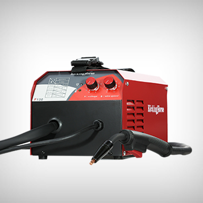 Flux Core Welder F130 IGBT Inverter, Home 120 V Input